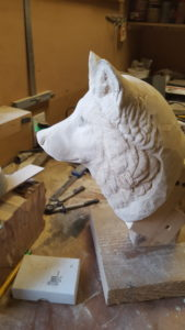 Carving fur