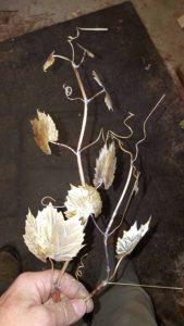 habitat, sculpture, grape vines, fine art, bird carving, birds, wildlife.